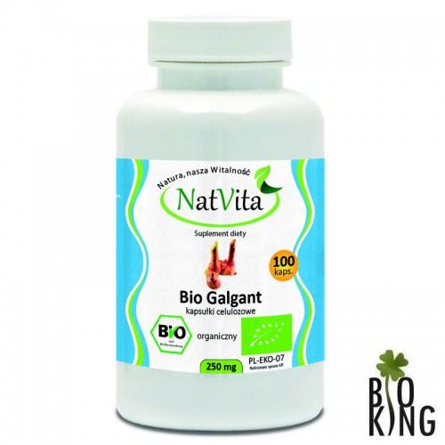 Bio galgant (alpinia lekarska) kapsułki NatVita