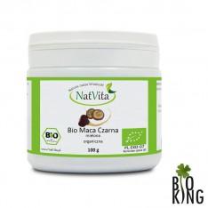 Bio maca czarna mielona organiczna NatVita