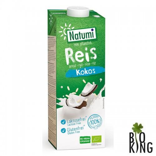 Napój ryżowo-kokosowy bez glutenu bio Natumi