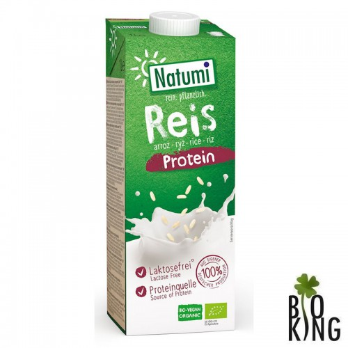 Napój ryżowy z proteinami bez glutenu bio Natumi