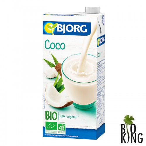 Napój kokosowy ekologiczny bio Bjorg