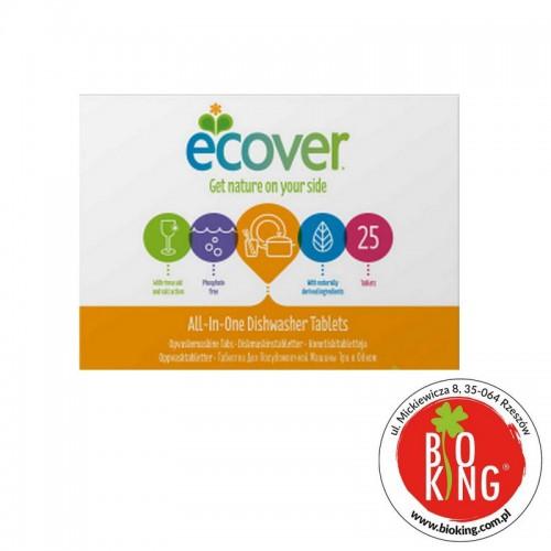 Tabletki do zmywarki All-in-One cytryna Ecover
