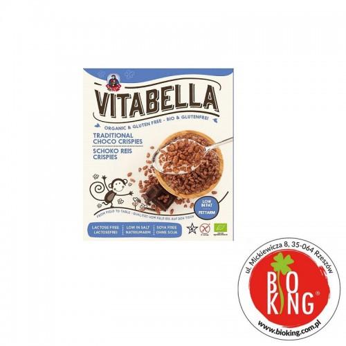 Płatki śniadaniowe z ryżu bio z czekoladą Vitabella