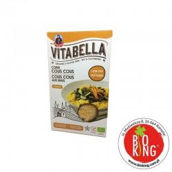 Kuskus kukurydziany bezglutenowy bio Vitabella