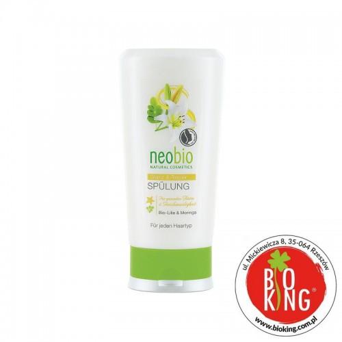 Odżywka do włosów zniszczonych z lilią bio Neobio