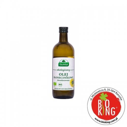 Olej słonecznikowy do smażenia bio EkoWital