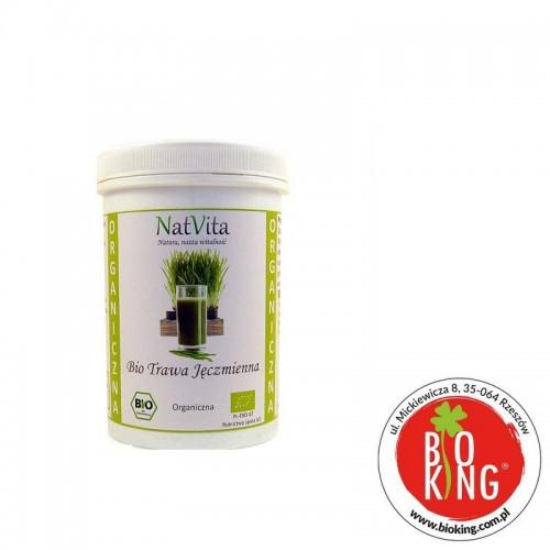 Trawa jęczmienna bio sproszkowany sok NatVita