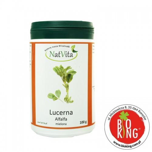 Lucerna mielona alfalfa ekologiczna NatVita