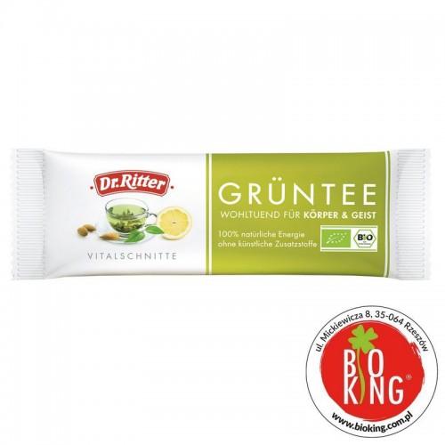 Baton energetyczny zielona herbata bio Dr Ritter