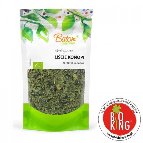 Liście konopii herbata konopna bio Batom