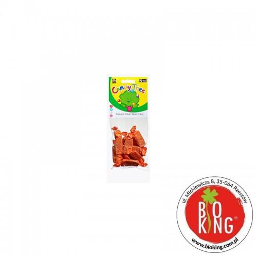 Cukierki pomarańczowe bez glutenu bio Candy Tree