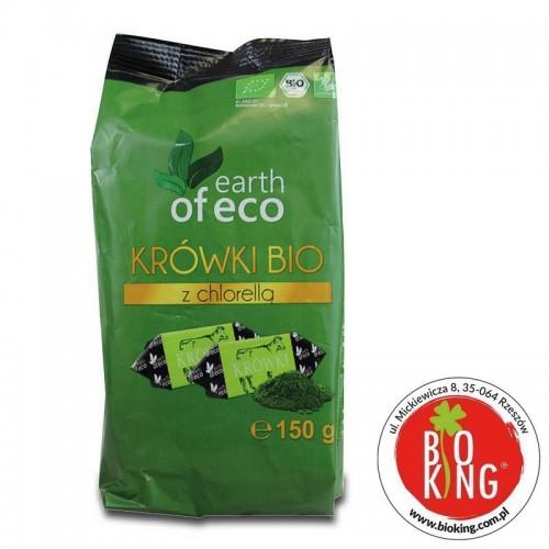 Krówki mleczne z chlorellą bio Earth of Eco