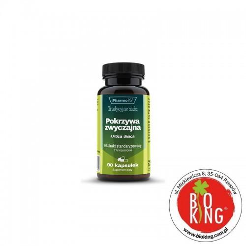 Pokrzywa zwyczajna ekstrakt 1% krzemionki PharmoVit