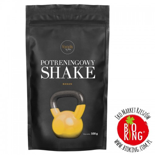 Potreningowy shake Banan Foods by Ann