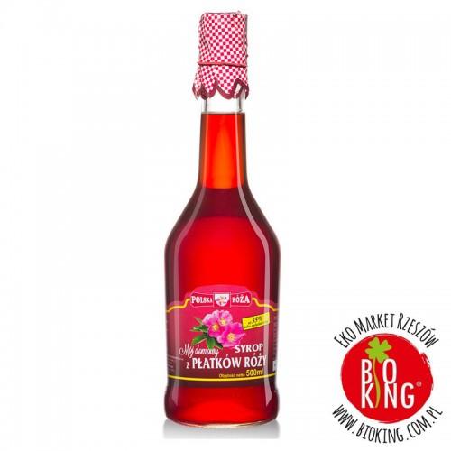Syrop z płatków róży Polska Róża