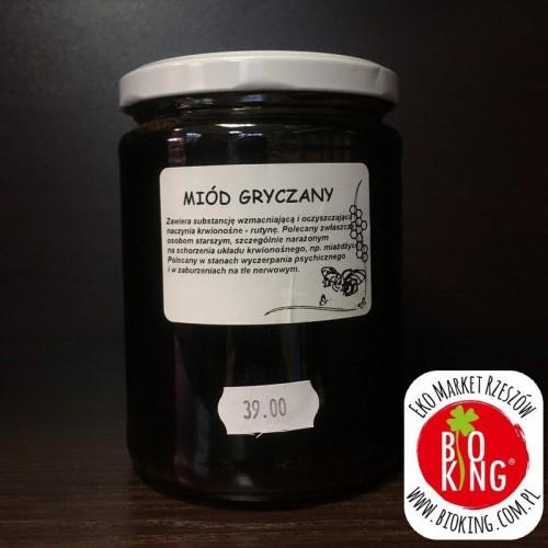 Miód gryczany Pasieka Wędrowna Wiesław Działo