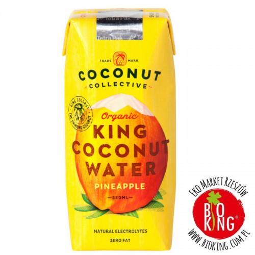 Woda kokosowa o smaku ananasa bio Coconut Collective