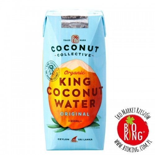 Naturalna woda kokosowa bio Coconut Collective