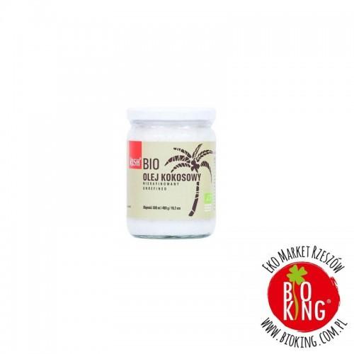 Bio olej kokosowy nierafinowany tłoczony na zimno Rish
