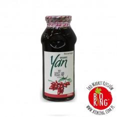 Napój z owoców dzikiej róży ekologiczny Yan 250 ml