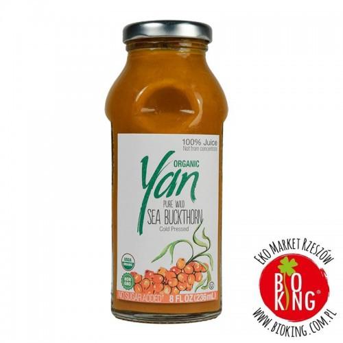 Ekologiczny sok z owoców rokitnika Yan