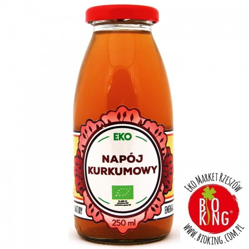 Ekologiczny napój kurkumowy Dary Natury