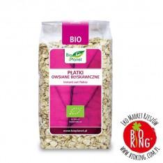Płatki owsiane błyskawiczne bio BioPlanet 300 g