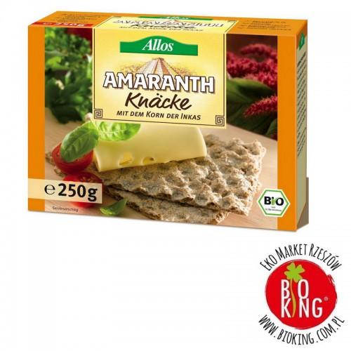 Pieczywo chrupkie amarantusowe bio Allos