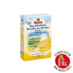 Kaszka pszenna bananowa z witaminami bio Holle