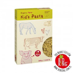 Makaron semolinowy dla dzieci bio Farma Alb Gold