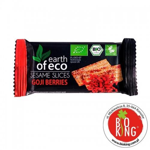 Sezamki bio z jagodami goji Earth of Eco