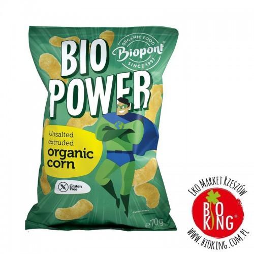 Chrupki kukurydziane bio bezglutenowe Biopont