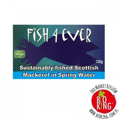 Makrela w sosie własnym zrównoważony połów Fish4Ever