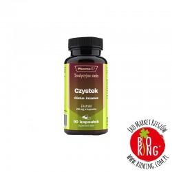Czystek ekstrakt 250 mg kapsułki PharmoVit