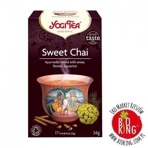 Herbata relaksująca słodki chai bio Yogi Tea