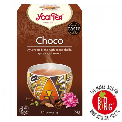 Herbata czekoladowa choco z kakao bio Yogi Tea