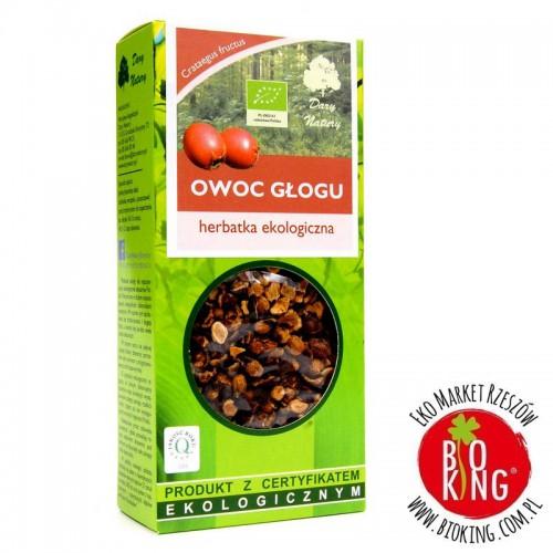 Herbata owoc głogu ekologiczny Dary Natury
