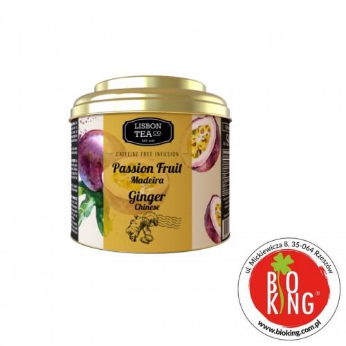 Napar owocowo-kwiatowy Marakuja z imbirem Lisbon Tea