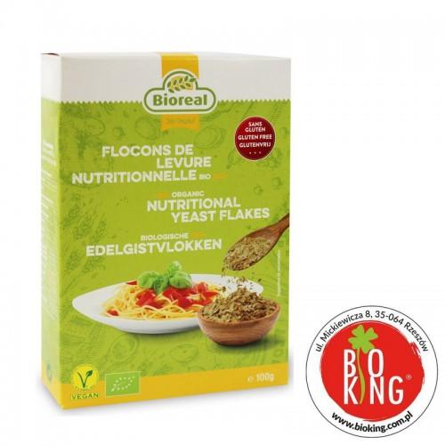 Płatki drożdżowe nieaktywne bez glutenu Bioreal