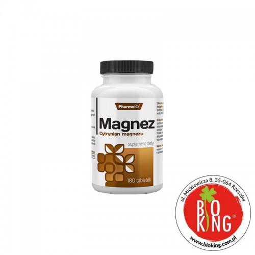 Magnez (cytrynian magnezu) w tabletkach PharmoVit