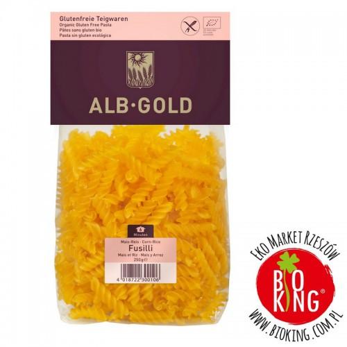 Makaron kukurydziano - ryżowy bez glutenu Alb Gold