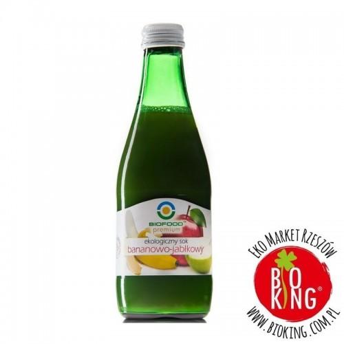Sok bio bananowo- jabłkowy BioFood