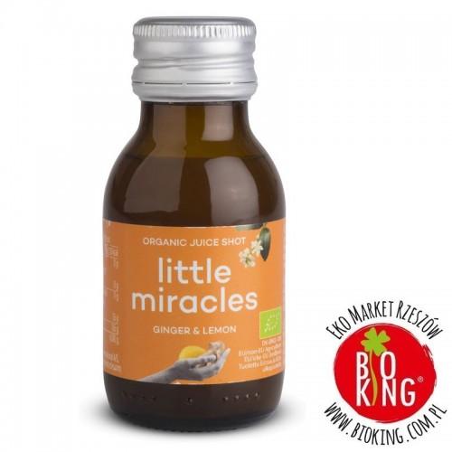 Shot owocowy imbir - cytryna bio Little Miracles