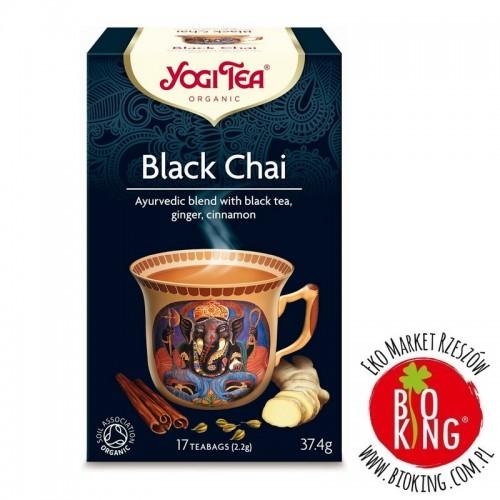 Herbata czarna chai z imbirem i cynamonem Yogi Tea