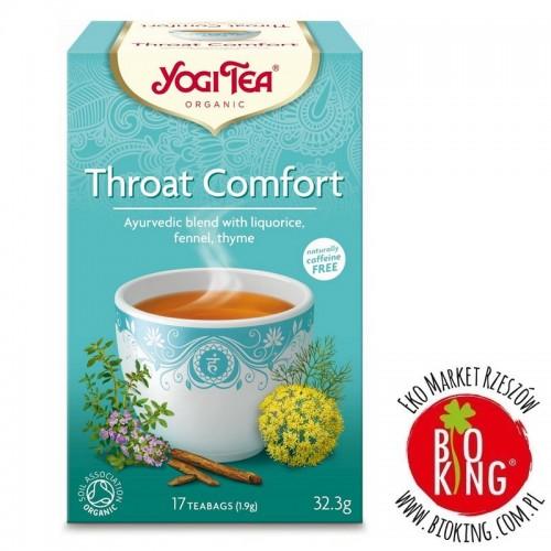 Herbata ajurwedyjska na gardło Yogi Tea