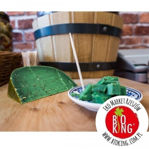 Ser Zielone Pesto Farmerskie 50% Holenderskie Sery