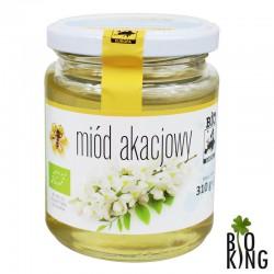 Miód akacjowy organiczny Bio Europa