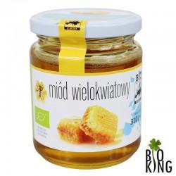 Miód wielokwiatowy nektarowy Bio