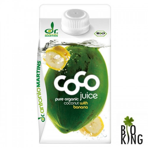 Woda kokosowa z bananem organic