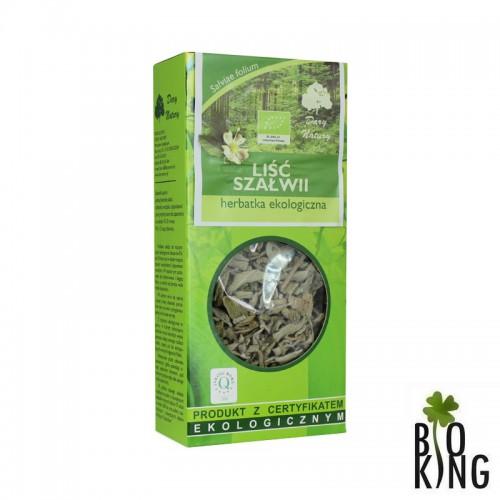 Szałwia - herbata do płukania jamy ustnej lub picia
